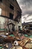 Demolished Brick Building Royalty Free Stock Photos