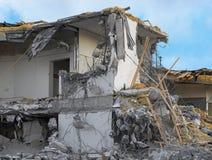 Demolished building Stock Image