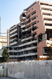 Demolished buildings in Belgrade Stock Photography