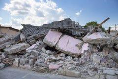 Demolished buildings Stock Photo