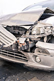 Demolished car Stock Photography