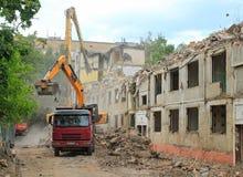 Demolished house Stock Photography