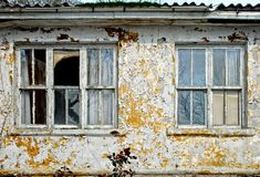 Demolished House Royalty Free Stock Image