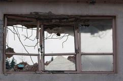 Demolished house Royalty Free Stock Image