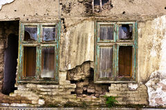 Demolished house Royalty Free Stock Images