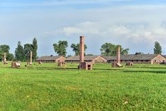 Auschwitz Concentration Camp Royalty Free Stock Image