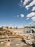Demolished Neighbourhood Royalty Free Stock Photos