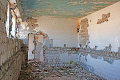 Demolished room Stock Photography
