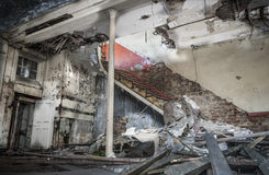 Demolished Room Stock Images