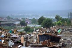 Demolished shanty remains,Maksuda Varna Royalty Free Stock Images