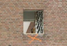 Demolishing a block of flats Stock Images