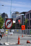 Demolishing the city centre Royalty Free Stock Photography