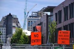 Demolishing the city centre Stock Photography