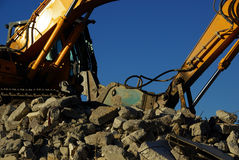 Demolition 01 Royalty Free Stock Photo