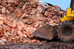 Demolition Royalty Free Stock Photos