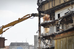 Demolition. Of old building and structures Royalty Free Stock Images