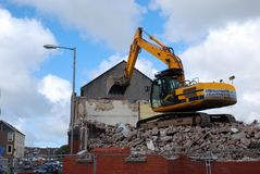 Demolition. Royalty Free Stock Photo