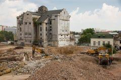 demolition fotos de stock
