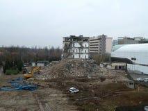demolition imagem de stock