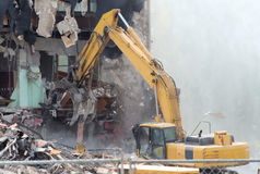Demolition 5 Royalty Free Stock Photos