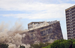 demolition Στοκ φωτογραφία με δικαίωμα ελεύθερης χρήσης