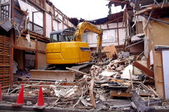 demolition Imagem de Stock Royalty Free