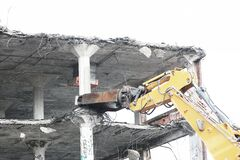Demolition Royalty Free Stock Images