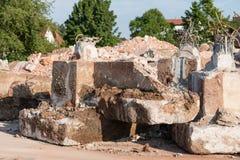 demolition fotografia de stock