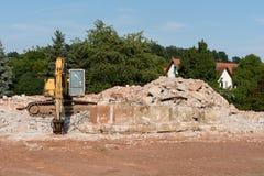 demolition foto de stock