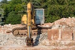 demolition imagem de stock royalty free