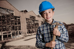 Demolition boy Stock Photo