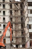 Demolition of  building Royalty Free Stock Photography