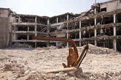 Demolition building Stock Photography