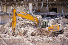 Demolition Building Royalty Free Stock Image