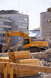 Demolition Building Royalty Free Stock Photo