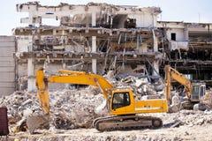 Demolition Building Royalty Free Stock Photos