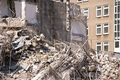Demolition Building Stock Photo