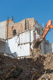 Demolition of building Royalty Free Stock Images