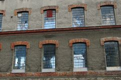 Demolition building Royalty Free Stock Photo