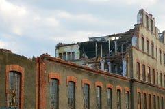 Demolition building Stock Photo