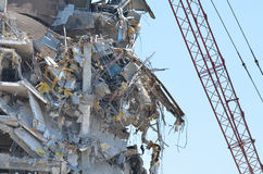 Demolition of building 5 Royalty Free Stock Photography