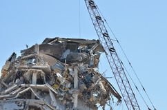 Demolition of building 2 Royalty Free Stock Photography