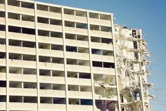 Demolition of Cabrini-Green building Royalty Free Stock Photos