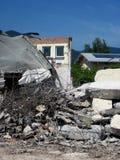 Demolition, construction. Royalty Free Stock Photo