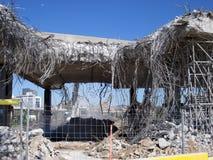 Demolition, construction, rebuilding Royalty Free Stock Image