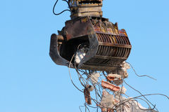 Demolition crane Stock Photography