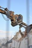 Demolition crane Stock Photo