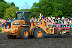 Demolition derby Stock Photography