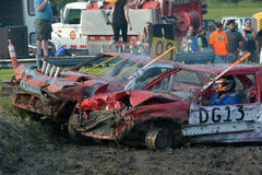 Demolition derby Royalty Free Stock Photography