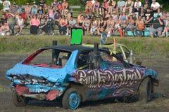 Demolition derby Stock Image